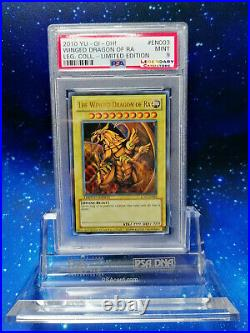 PSA HOLO ULTRA RARE Winged Dragon of Ra YuGiOh! LIMITED EDITION NO Blue Eyes