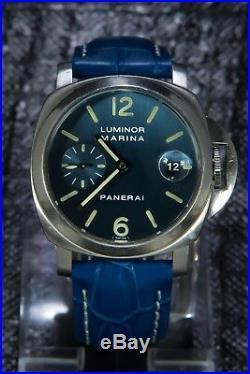 Panerai Luminor Marina Ultra Rare Blue Limited Edition OP 6560