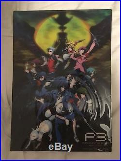 Persona 3 The Movie 4 Winter of Rebirth 3D Poster LIMITED EDITION, ULTRA RARE