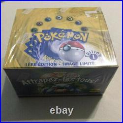 Pokemon 1999 Display scellé 36 Booster set de Base 1 ère édition neuf picture