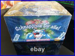 Pokemon 1 Edition 1999 Basis Display Deutsch mit 36 Booster OVP MINT ORIGINAL