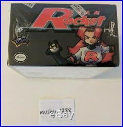 Pokemon 1st Edition Team Rocket Sealed Booster Box WOTC Case Fresh Gem Mint PSA