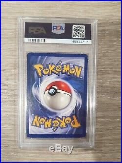 Pokemon Card Dragonite First Edition Holo Fossil Set 1999 PSA 6