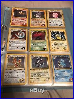 Pokemon Cards 1st Edition Ultra Rare Bundle Complete Sets Shadowless Charizard