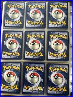 Pokemon Cards Base Set 1st Edition Shadowless Part Complete 41/102 Ultra Rare
