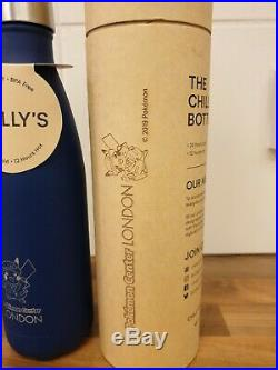 Pokemon Center London Blue Chillys Water Bottle Flask Ultra Rare Limited Edition