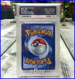 Pokemon Charizard 1st Edition Base Set Shadowless PSA 6 Excellent Thick Stamp