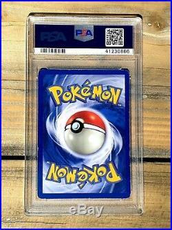 Pokemon Charizard 1st Edition Base Set Shadowless PSA 7 NEAR MINT Thin Stamp