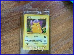 Pokémon E3 Shadowless Red Cheek Pikachu Mint Condition, Sealed (Error Variant)