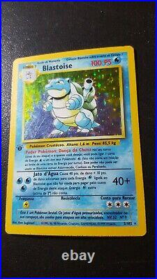 Pokemon Game Card PT Edition1 Holo Blastoise