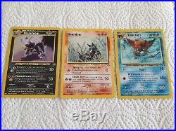 Pokemon Neo Discovery set complete 75 card set Ultra rare includes 1st editions