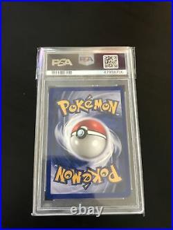 Pokemon PSA 9 1st Edition Dark Charizard Team Rocket 4/82 Holo Error Label