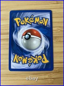 Pokemon Typhlosion Tornupto Holo Neo Genesis 1. Edition