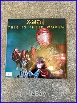 Queen News Of The World Marvel Edition Ultra Rare Comic Con 200 Only No 75