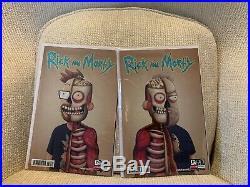RICK & MORTY 50 Justin Roiland & Dan Harmon Variant Set Ultra Rare NM+