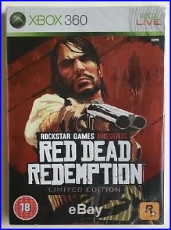 Red Dead Redemption Limited Edition (Xbox 360) Factory Sealed Ultra Rare NEW