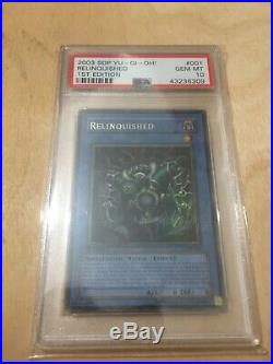 Relinquished Yugioh SDP-001 1st Edition Pop 14