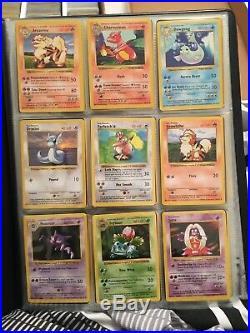 SHADOWLESS Base Set Part Complete 88/102 Near Mint / EXC Inc 1st Edition Pokémon