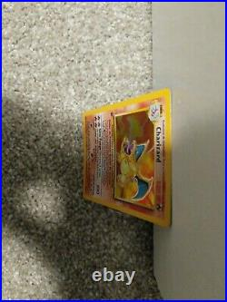 SPANISH Pokemon Base Set CHARIZARD 1ST EDITION HOLO beautiful very rare card