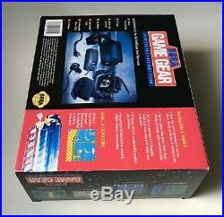 Sega Game Gear Sonic The Hedgehog Limited Edition New with Game Ultra Rare