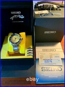 Seiko SRPD19K Limited Edition Mini Turtle Zimbe Yellow Dial Ultra Rare LNIB