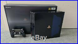Sony PlayStation 4 Pro 2TB 500 Million Limited Edition Console ULTRA RARE