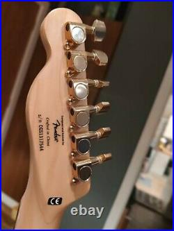 Squier by Fender Gold Telecaster J5 Guitar 2013 Limited Edition Ultra Rare