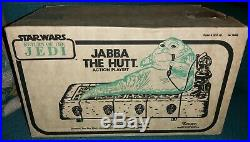 Star Wars Jabba The Hutt Vintage Playset Ultra Rare White Box Variant Rotj