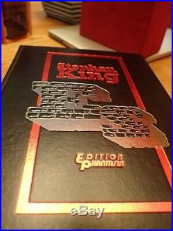 Stephen King Es Ultra Rare German Edition #125/250 Edition Phantasia Hardcover