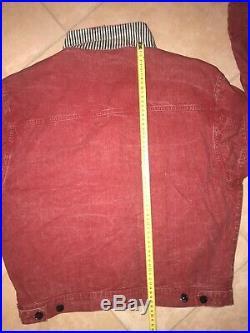 Stone Island Jacket S Marina Osti 80 Ultra Rare Red Version Tela Stella Vintage