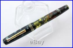 TIBALDI TRASPARENTE Limited Edition-Fountain Pen-CELLULOID-Piston-90s-ULTRA RARE