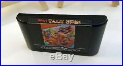 Talespin Disney Version Alternative MEGA DRIVE EUR CIB, ULTRA RARE, Comme neuf