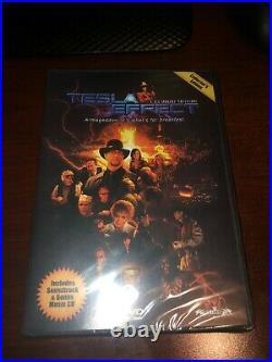 Tesla Effect A Tex Murphy Adventure Collector's Edition Ultra Rare DVD + shirt