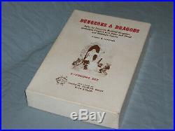 The Original DUNGEONS AND DRAGONS WHITE BOX SET (ULTRA RARE HOBBITS EDITION!)