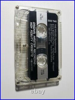 The Police Synchronicity MFSL Limited Edition Ultra Rare Cassette roxanne