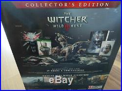 The Witcher 3 Wild Hunt Collector's Edition Xbox One NEW ENGLISH ULTRA RARE