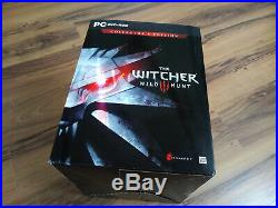 The Witcher 3 Wild Hunt Collector's Edition Xbox One PC ENGLISH ULTRA RARE