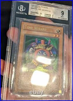 Time Wizard MRD-065 Ultra Rare 1st Edition PSA/BGS QUAD+ 9 MINT NORTH AMERICAN