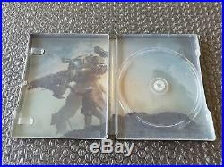 Titanfall 2 limited edition Steelbook Ultra rare Ps4 NO GAME