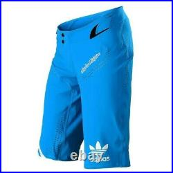 Troy Lee Designs Ultra Short Adidas Ltd Edition Ocean Blue MX DH MTB ENDURO Rare