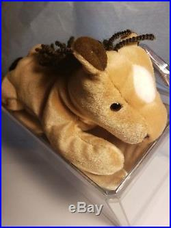 Ty Beanie Babies ULTRA rare retired with tag errors Derby PE 1st Edition Gift