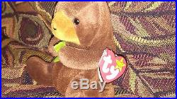 Ty beanie baby Seaweed Limited Edition with 4 Errors! Ultra Rare! New MWMT