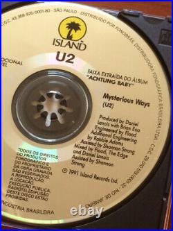 U2 Mysterious Ways Ultra Rare Limited Edition Brazil Promo Cd Cat 2801 542