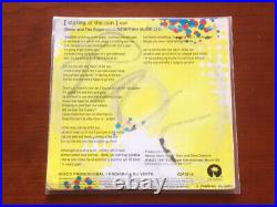 U2 Staring At The Sun Ultra Rare Limited Edition Mexico Promo CD CDP581-2