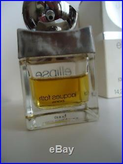 ULTRA RARE 1972's! BEST parfum ELLIPSE JAQUES FATH, e 14,2 ml, FIRST VERSION