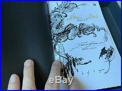 ULTRA RARE 1/5 Edition UPROOTED Double-Signed By Naomi Novik & Donato