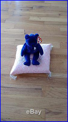 ULTRA RARE 1st EDITION PRINCESS DIANA BEANIE BABY P. E. PELLETS WITH TAGS 1997