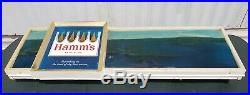 ULTRA RARE HAMM'S 60s PANORAMIC Lighted Beer Sign ORIGINAL WEST COAST VERSION