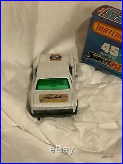 ULTRA RARE Matchbox No 45 BMW 3.0CSL White Manhalter Austrian Version RARE Mint