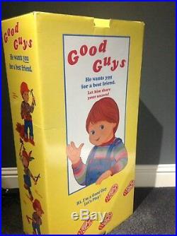ULTRA RARE Medicom Talking Chucky Doll Limited Edition Child's Play Chuckie READ